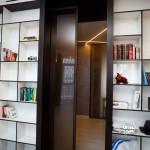 интерьерные конструкции (стекло+МДФ+раздвижная створка)