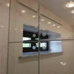 зеркальные створки в скрытом профиле