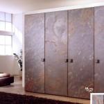 двери, заполнение - каменный шпон