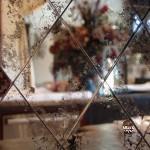 панно из состаренных зеркал